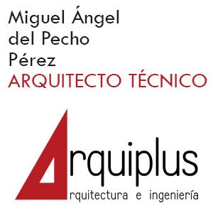 Miguel Ángel del Pecho Pérez. Arquitecto Técnico